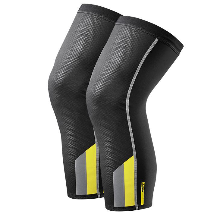 MAVIC Vision zwart kniestukken, voor heren, Maat S, Kniewarmer, Wielerkleding