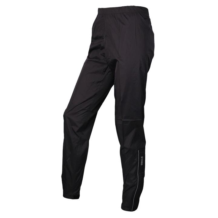 PRO-X Tramp, zwart regenbroek, voor heren, Maat L, Fietsbroek, Regenkleding