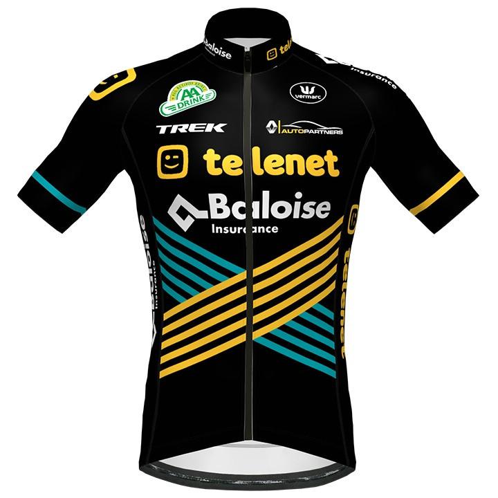 TELENET BALOISE LIONS 2020 fietsshirt met korte mouwen, voor heren, Maat M, Fiet