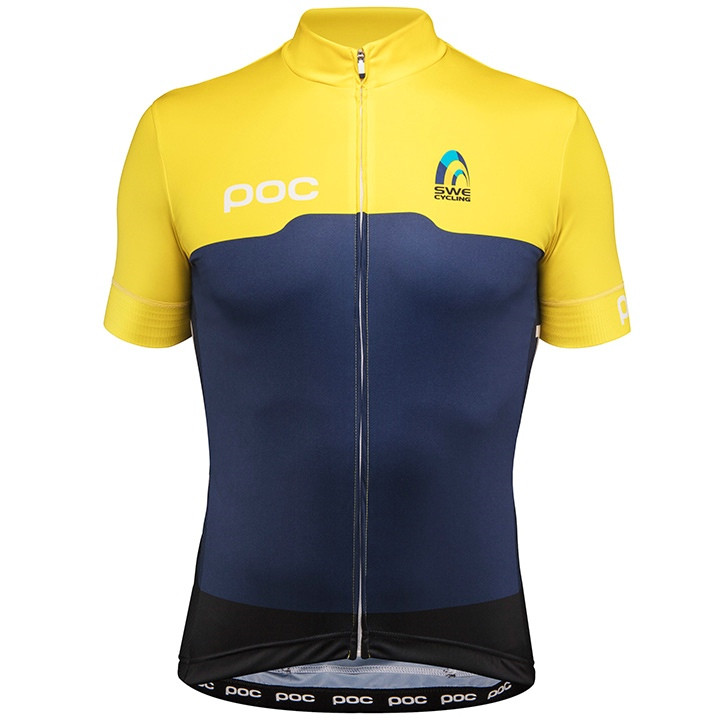 ZWEEDSE NATIONALE TEAM fitsshirt met korte mouwen 2017 fietsshirt met korte mouw